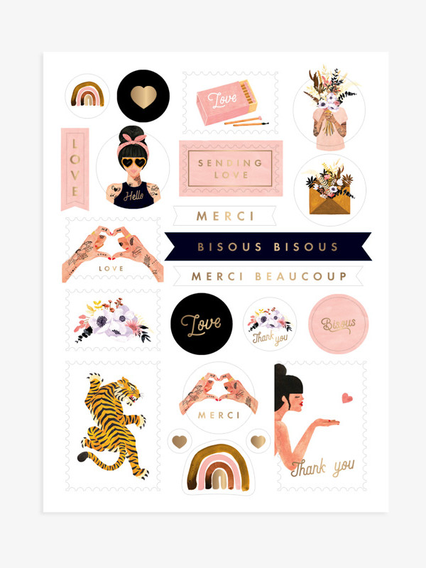 STICKERS-All-the-ways-to-say-Maison-Paon