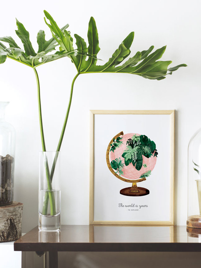 Affiche-world-all-the-cays-to-say-maison-paon