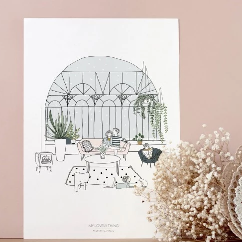 affiche-my-lovely-thing-maison-paon